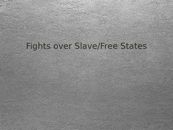 Slave vs Free States