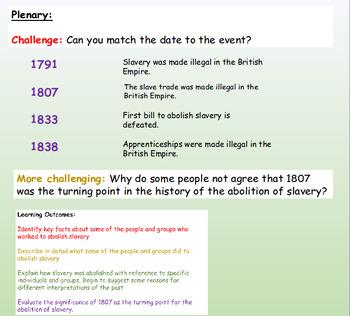 Slavery: Abolition: British Empire