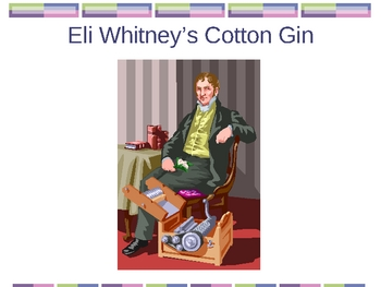 Slavery & Cotton in the South - PowerPoint