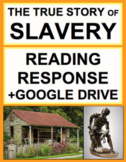 Slavery Nonfiction Reading Response Text Questions, Answer Key + Google Doc