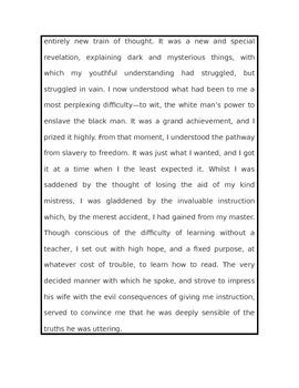 Slavery Primary Documents w/Common Core Lesson