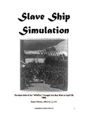 Slavery Simulation - Middle School Level