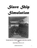 Slavery Simulation - Middle School Level