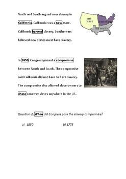 Slavery Splits the US