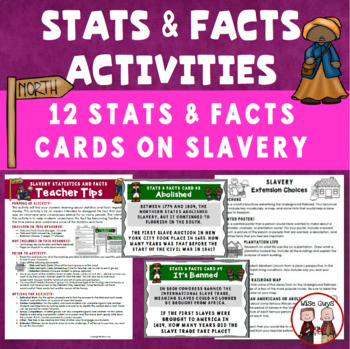 Slavery Statistics and Facts Activity