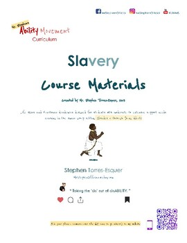 Slavery |  Teacher Materials (part 2 of 2) | SpEd: Gd. 5 - Young Adult