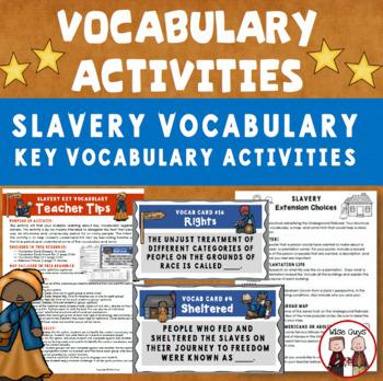 Slavery Vocabulary Activity