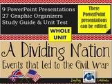 Slavery and a Dividing Nation UNIT