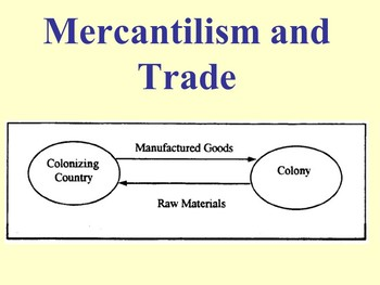 Slavery and Mercantilism Powerpoint with note taker