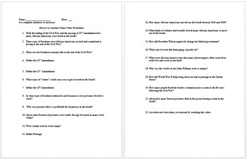 100+ [ The Triangular Trade Worksheet Answers ] | During The ...
