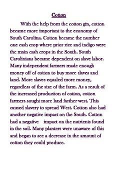 Slavery in Antebellum South Carolina