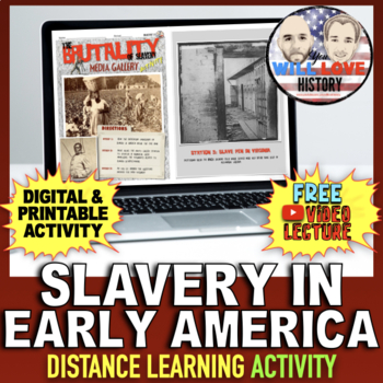 Slavery in Early America Activity