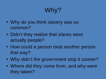Slavery in Pictures