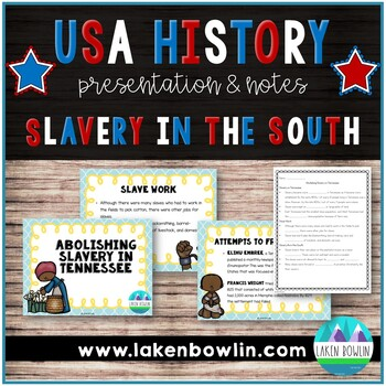 Slavery in Tennessee TN SS 4.60