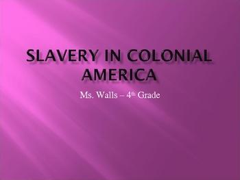 Slavery/Indentured Servants in Colonial America