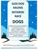 Sled Dog Racing,  Balto, Mushers - complete printable unit