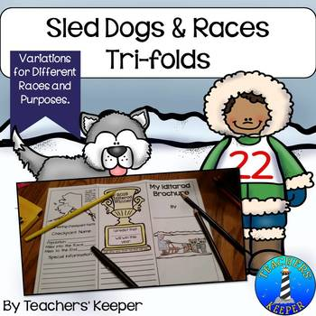 Sled Dog and Races Trifolds & Brochures