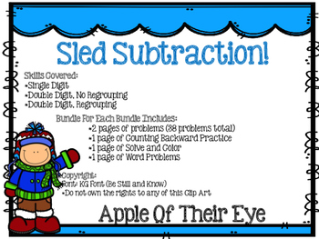 Sled Subtraction