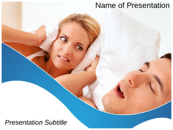 Sleep Apnea PPT Template