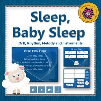 Sleep, Baby Sleep: Orff, Rhythm, Melody and Instruments