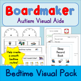Sleep / Bedtime Visual Pack - Boardmaker Visual Aids for Autism SPED