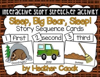 Sleep, Big Bear, Sleep! Story Sequence and Retelling Cards