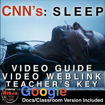 Sleep: CNN Special with Dr. Sanjay Gupta Video Guide (Cons