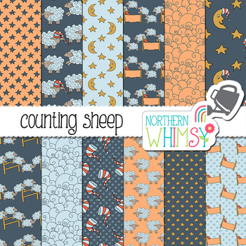 Sleep Digital Paper - Counting Sheep
