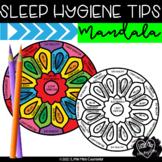 Sleep Hygiene Tips Mandala