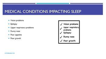 Sleep Problems ASD Parent Training