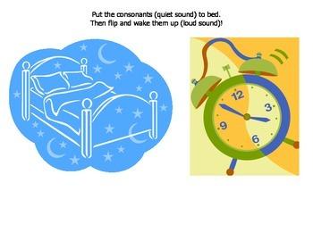 Sleep-Wake Consonants