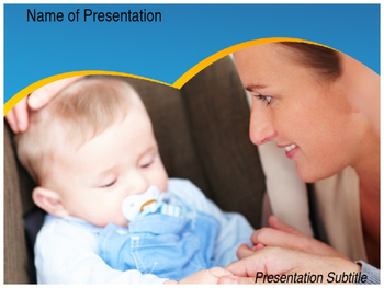 Sleeping Baby PPT Template