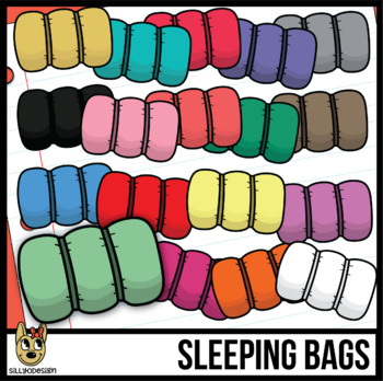Sleeping Bag Clipart