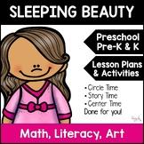 Sleeping Beauty  Minilesson for Preschool, PreK, K, & Homeschool