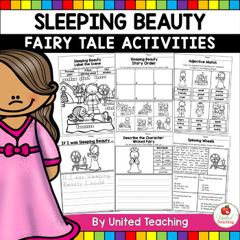 Sleeping Beauty No Prep Fairy Tale Activities