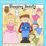 Sleeping Beauty Princess Clip Art C. Seslar
