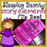 Sleeping Beauty Story Elements Flip Book Differentiated