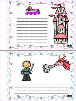 Sleeping Beauty - Story Retelling Worksheets by Nyla\'s Crafty Teaching