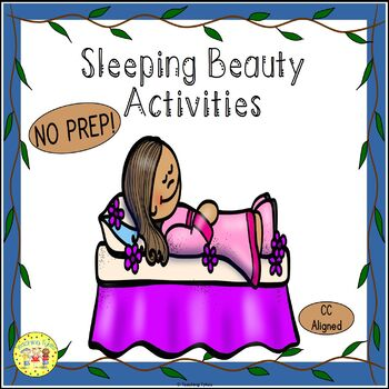 Sleeping Beauty Fairy Tales Worksheets Activities Games Printables and More