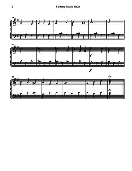 Sleeping Beauty Waltz for Tone Chimes/ Choir Chimes