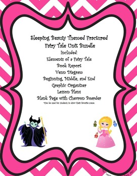 Sleeping Beauty and Maleficent Themed Fairy Tale and Fractured Fairy Tale Bundle