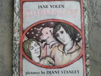 Sleeping Ugly by Jane Yolen. Classic literature twist! Hard good, book.