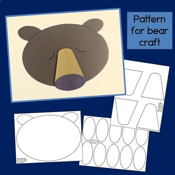 Sleepy Bear Guided Reading Book & Craft