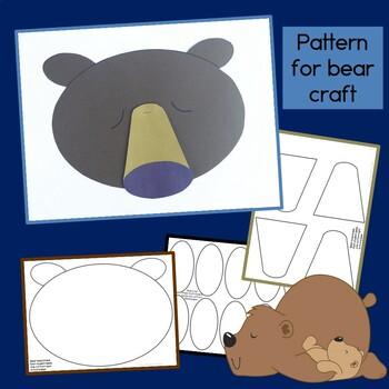 Sleepy Bear Guided Reading Book & Craftivity