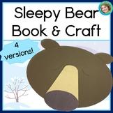 Hibernation Guided Reading Sleepy Bear Book and Craft
