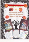 Sleepy Hollow Art and Fun Packet
