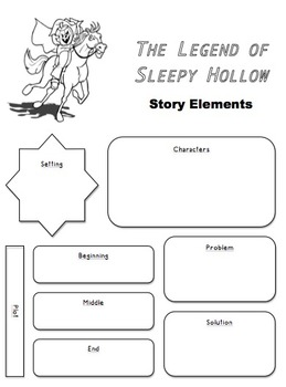 The Legend of Sleepy Hollow Literature Unit Materials