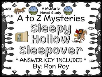 Sleepy Hollow Sleepover : A to Z Mysteries (Ron Roy) Novel Study / Comprehension