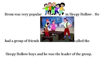 Sleepy Hollow (adapted) Chapters 4-6