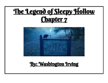 Sleepy Hollow (adapted) Chapters 7-10